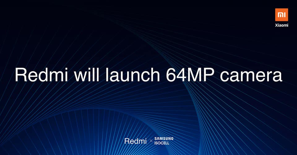 Redmi 64MP camera
