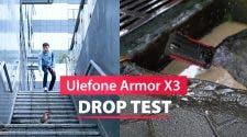 Ulefone Armor X3 Drop-Resistance Test Video