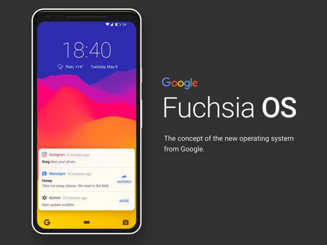 Huawei is working on Fuchsia OS