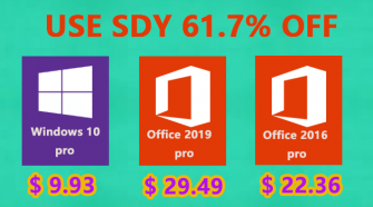 Big Sale: Windows 10 Pro Key at $9.93, Office 2019 Pro at $29.49 & Office 2016 Pro at $22.36