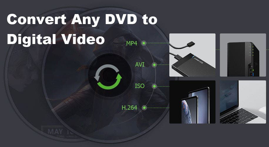 How to Converts DVD to Video for Playback on Android with WinX DVD Ripper