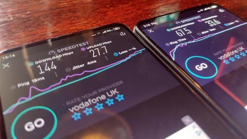 Xiaomi 5g smartphone