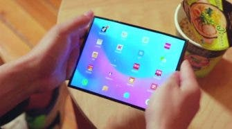 Xiaomi folding screen smartphone design