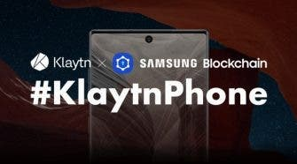 Klaytnphone Blockchain Galaxy Note10