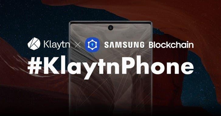 Klaytnphone Blockchain Galaxy Note10