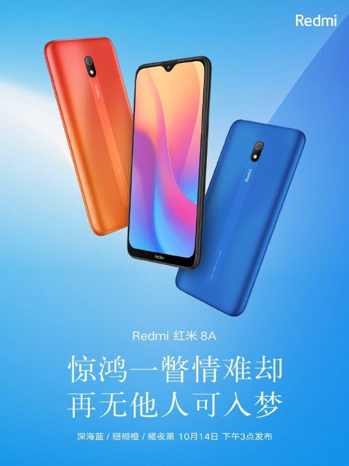 Redmi 8A colors