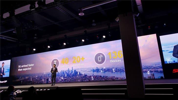 Huawei VP speaks on 5G