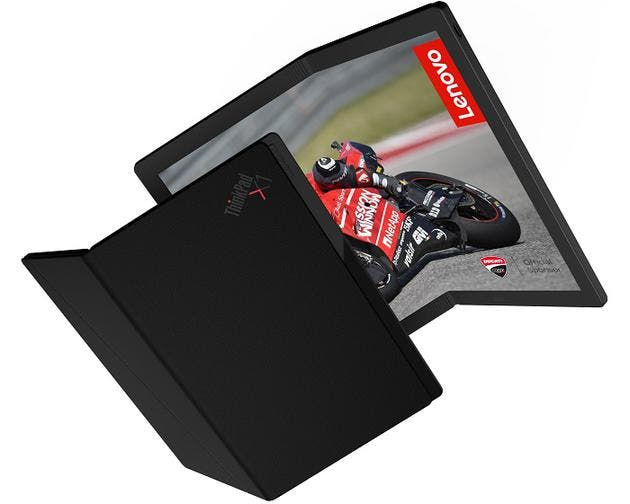 Lenovo ThinkPad X2 folding screen variant