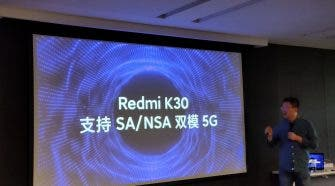 Redmi K30 punch-hole screen
