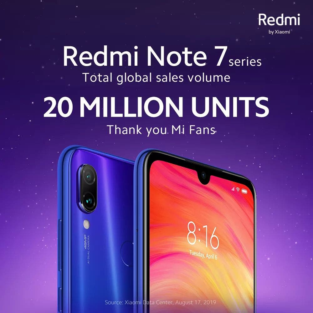 Redmi Note 7 series