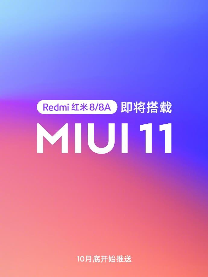 Redmi 8a MIUI11
