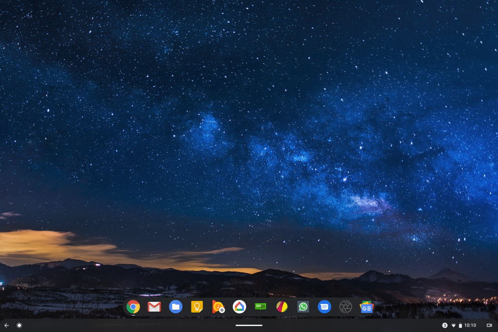 Chrome OS with Android Gestures