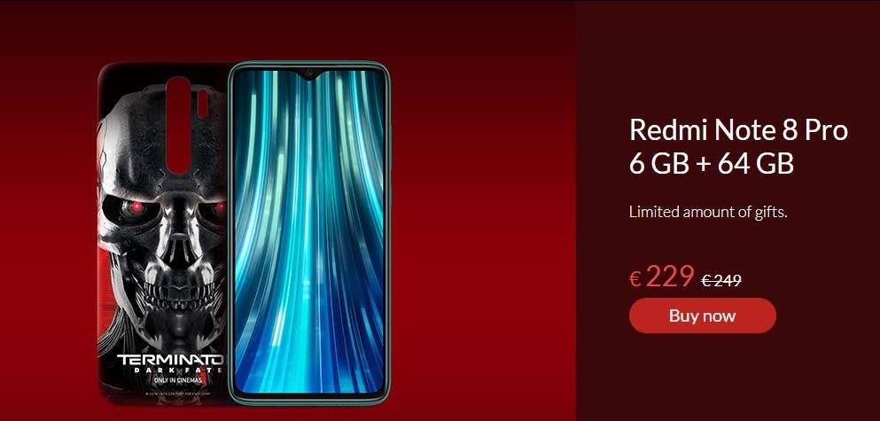 Xiaomi Redmi Note 8 Pro Terminator Edition