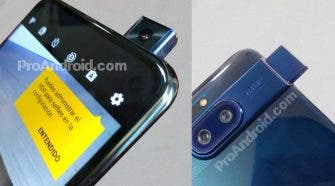 Motorola Phone with pop-up camera