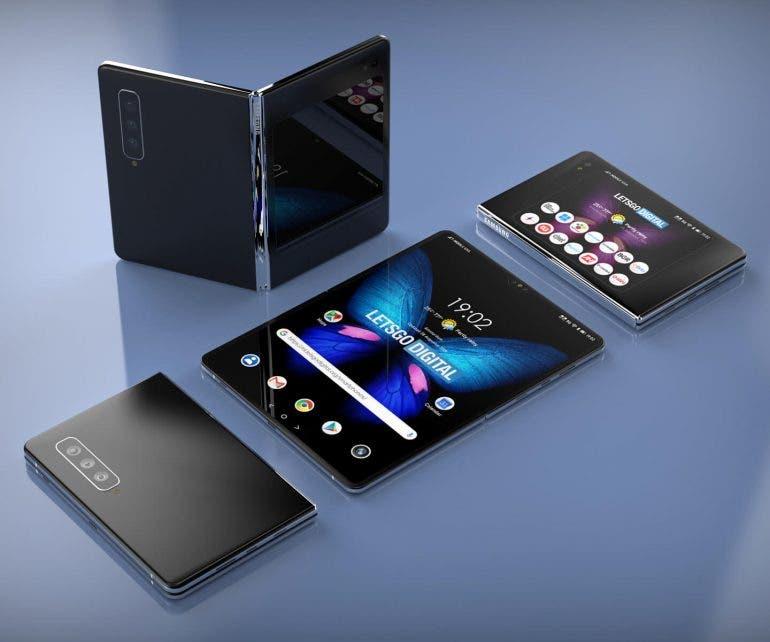 Samsung Galaxy Fold 2 S Pen patent