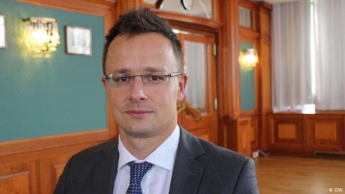 Hungary foreign minister, Peter Szijjarto