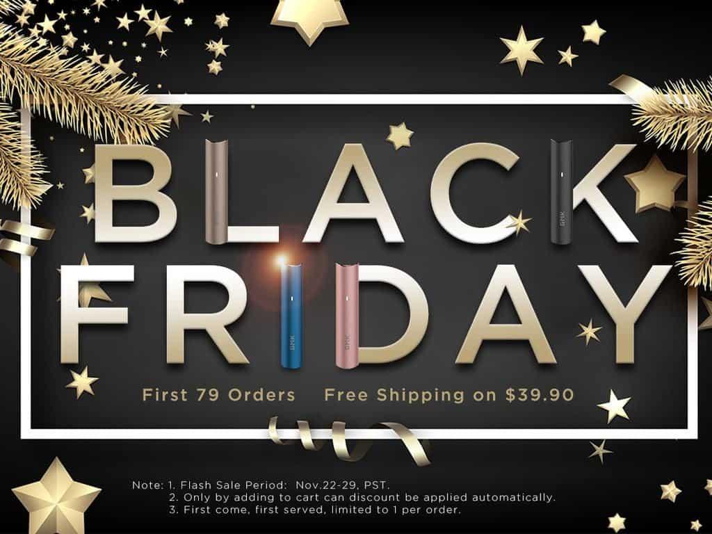 Gmk Black Friday Vape Deals Free Trial Starter Kit For 0 Gizchina Com