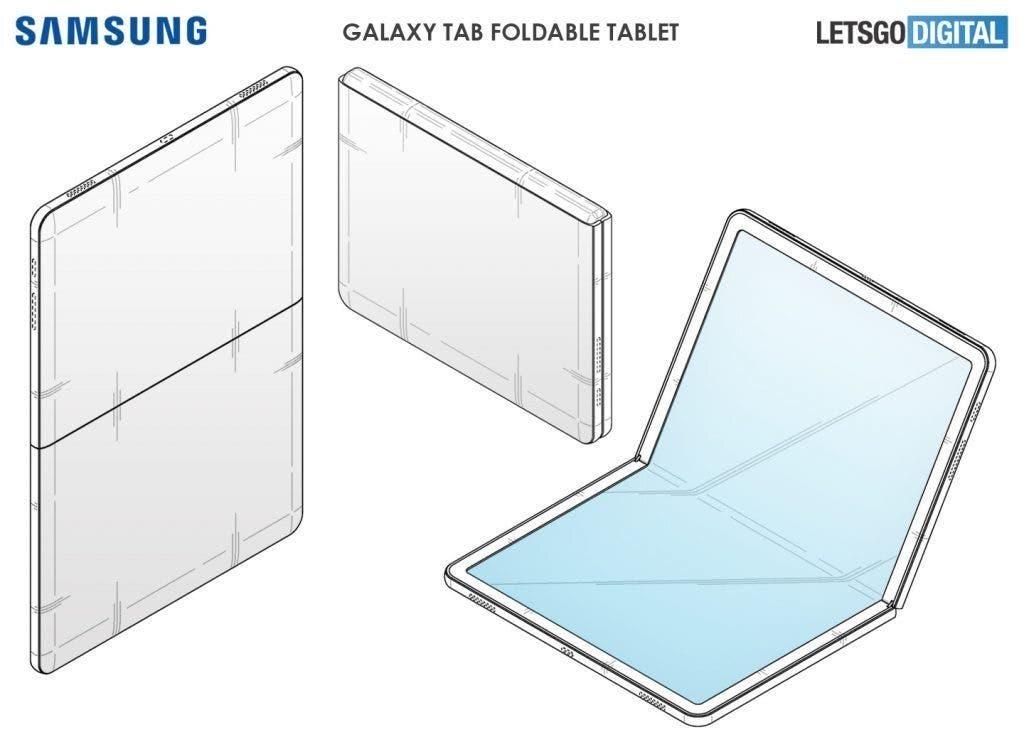Samsung Galaxy Tab Foldable Tablet