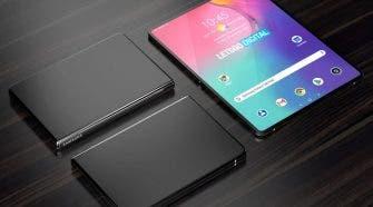 Samsung Galaxy Tab Foldable Phone
