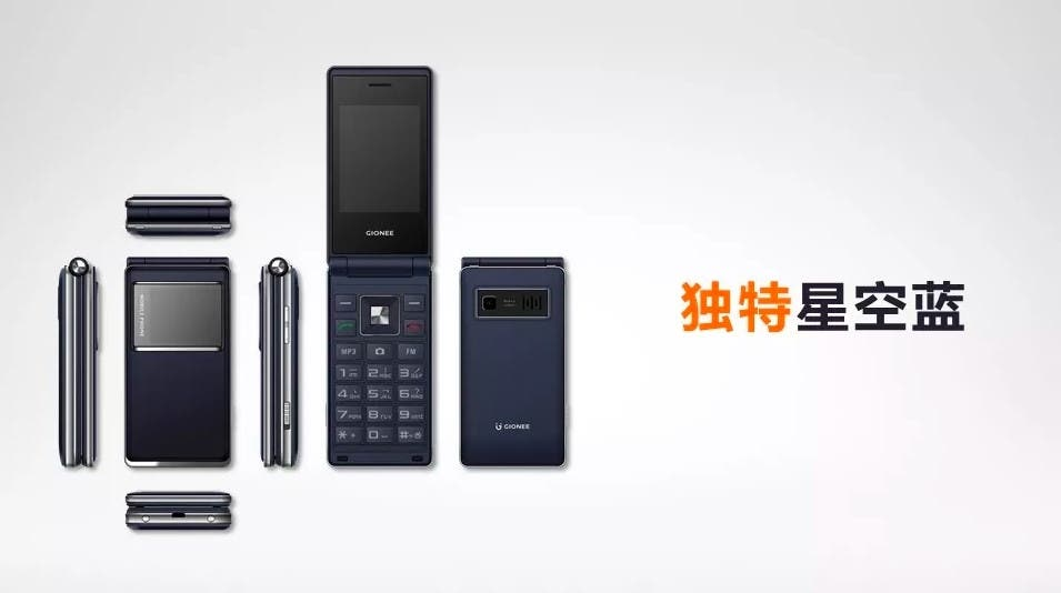 Gionee is Back with a Flip Phone, Meet the Gionee A326