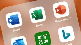 Word Excel and PowerPoint