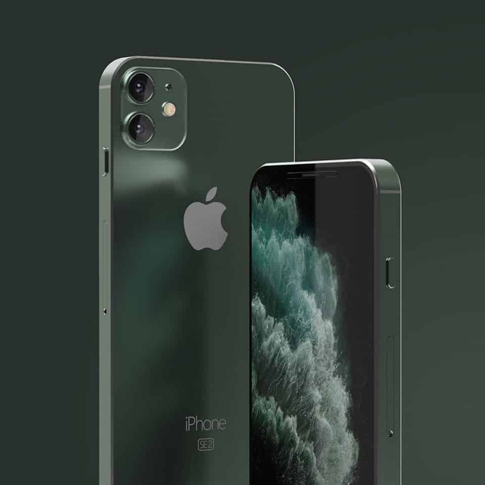 iPhone SE2 Concept Render