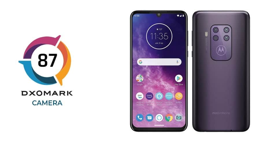Motorola One Zoom Reviewed by DxOMark
