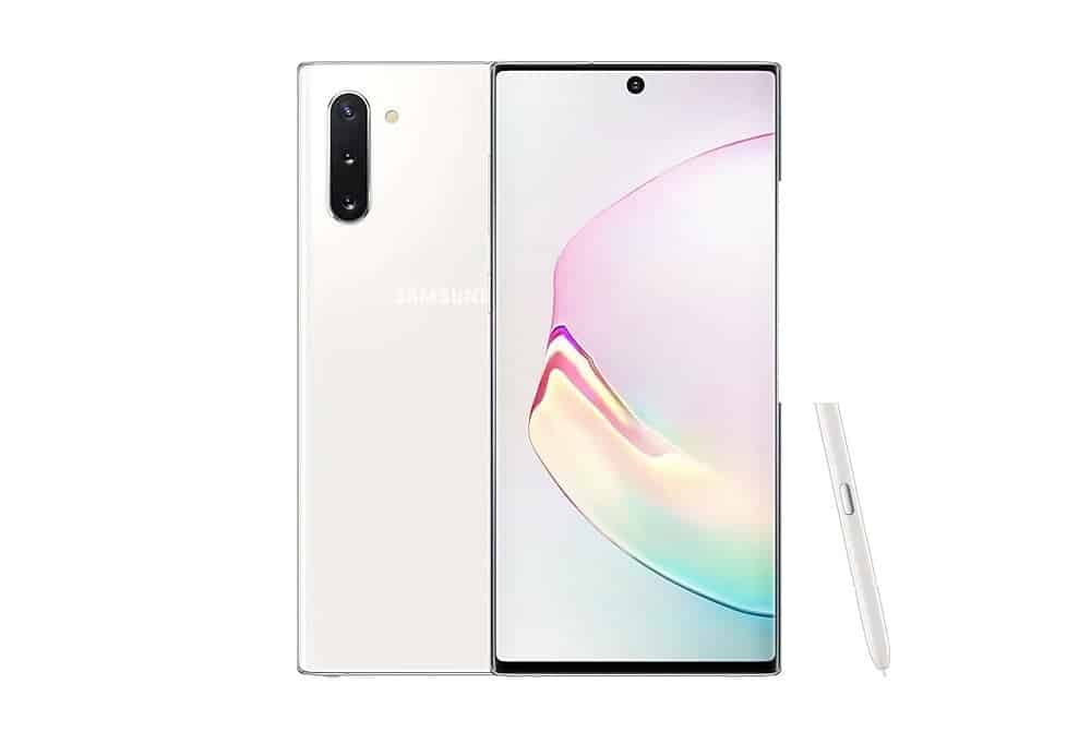 Samsung Galaxy Note10 5G Aura White
