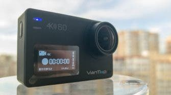 Vantop Moment 6S Action Camera Review