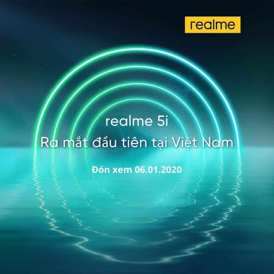 realme 5i launch