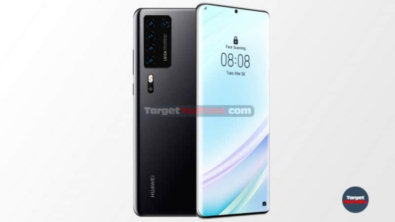Here is what the front of the Huawei P40 Pro will like