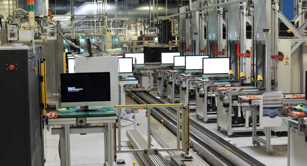 Apple production lines
