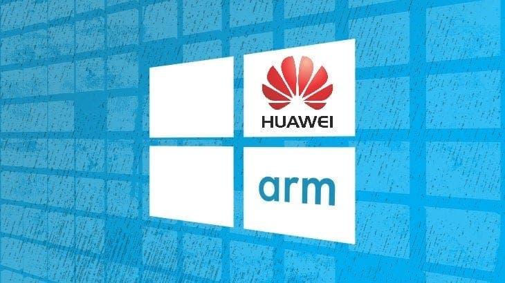 Huawei Windows 10 on ARM