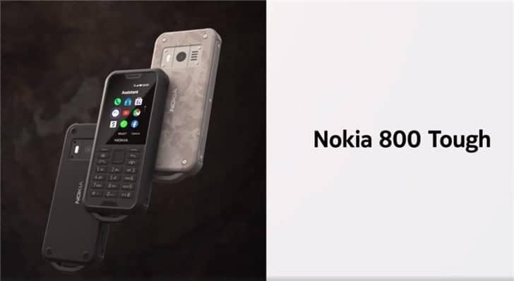Nokia 800 Tough Rugged Phone May