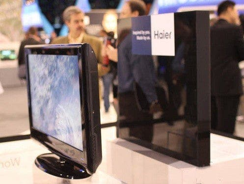 Haier tailless TV