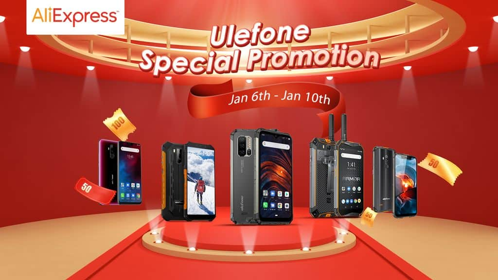 Ulefone smartphones