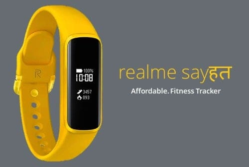 Realme's firts smart bracelet