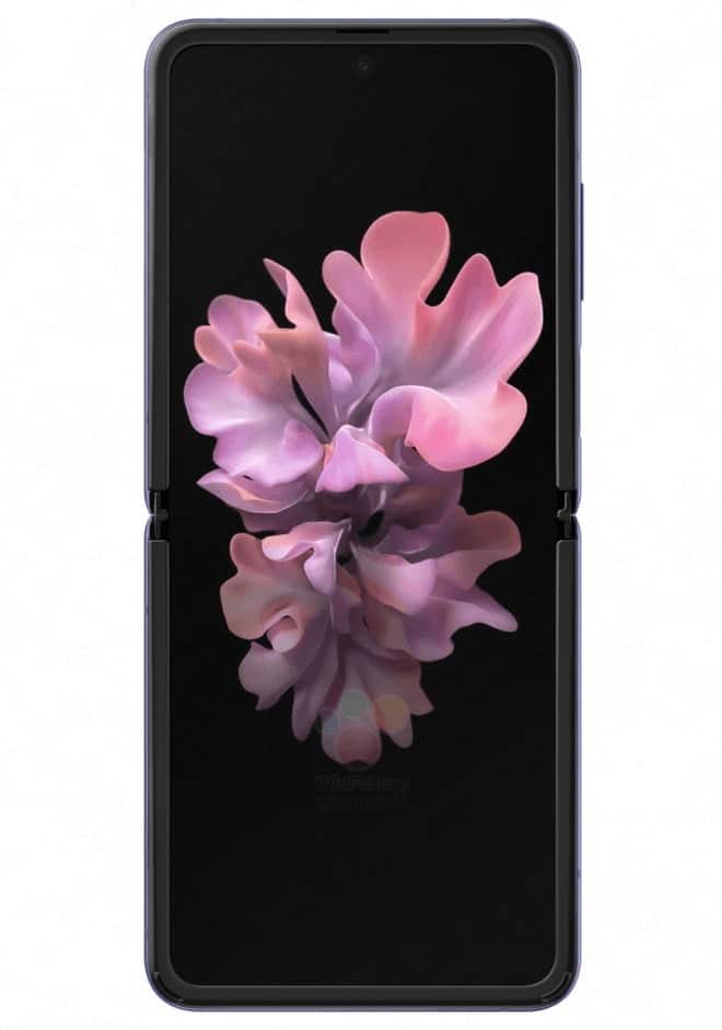 Samsung Galaxy Z Flip Hd Renderings Showcased