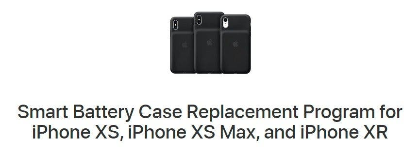 Apple's Smart Battery Case Replacement Program Kicks Off