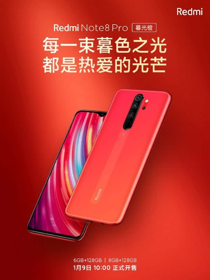 Redmi Note 8 Pro Redmi 8 Gets New Amazing Colour Options