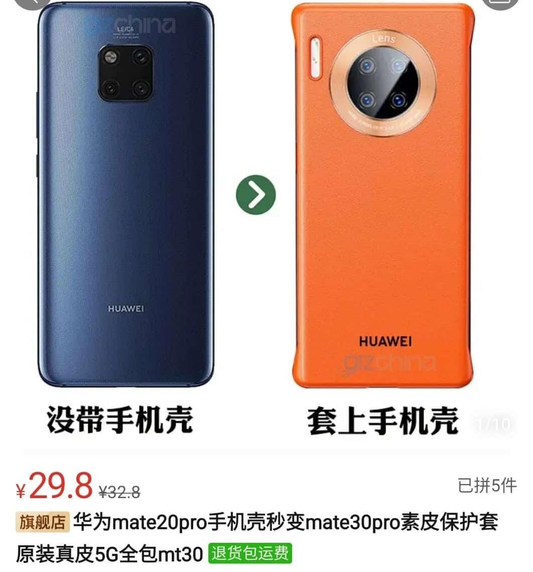 Huawei Mate 20 Pro Huawei Mate 30 Pro