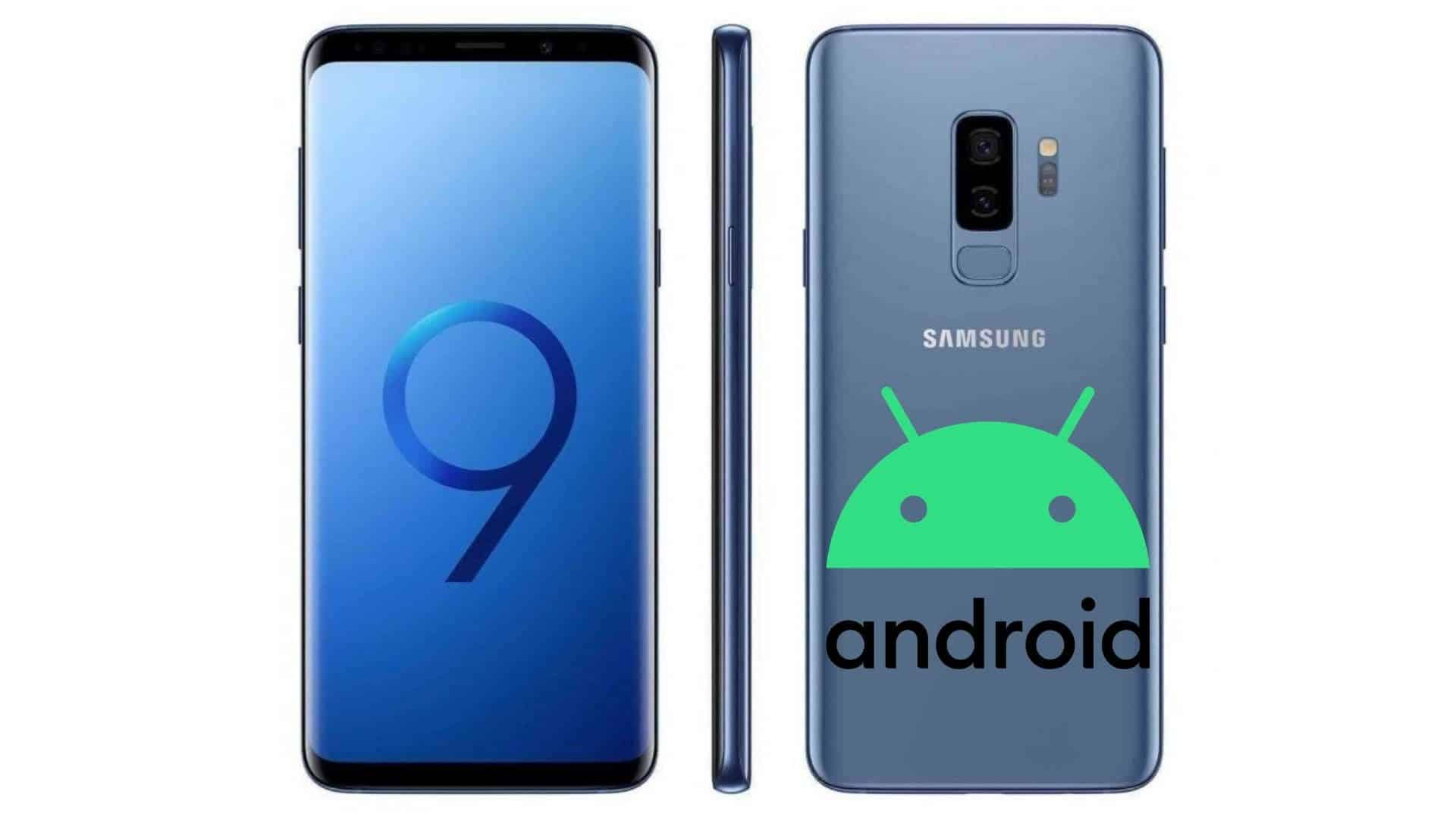 Samsung Galaxy S9 S9+ Android 10