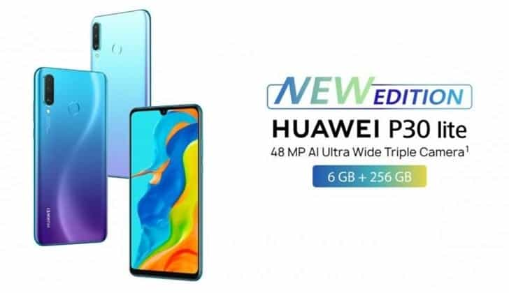 Huawei P30 Lite arrives the UK with Google services