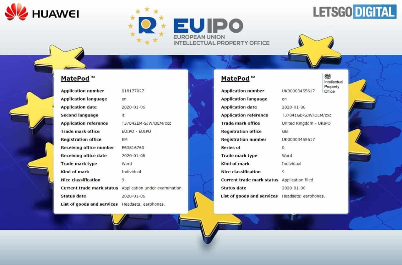 Huawei MatePod Certified in Europe