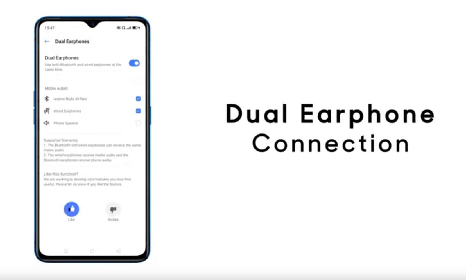 Realme Buds Air Neo teased during Realme UI's reveal