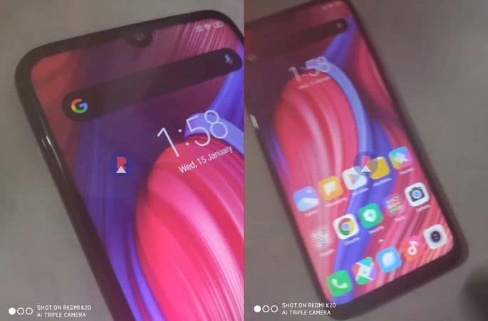 Poco F2 Live Images Surfaced Online; Snapdragon 765 and 5,000 mAh Battery!