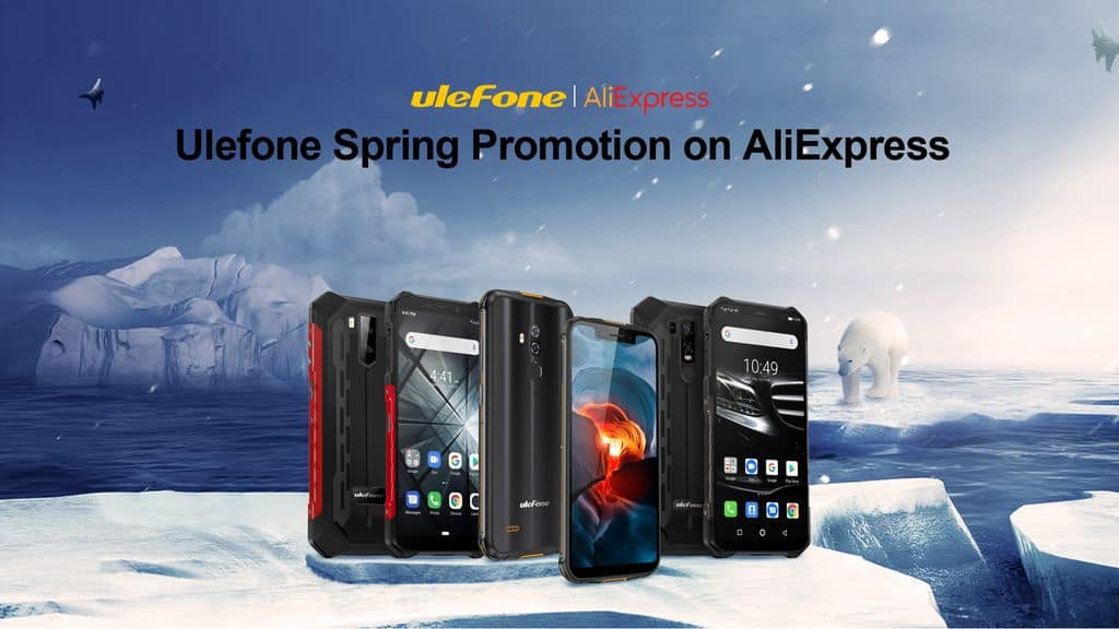 Ulefone Spring promotion event on AliExpress - Gizchina.com