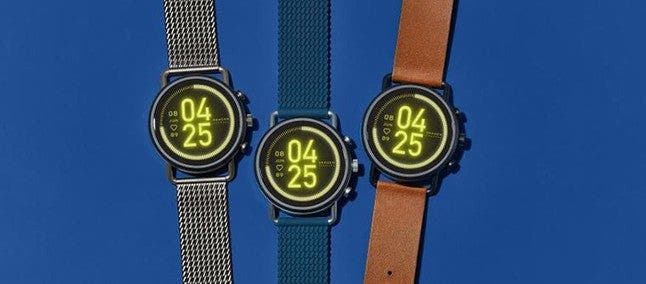 Skagen Falster 3 smartwatch with AMOLED display and Snapdragon Wear 3100 launched - Gizchina.com