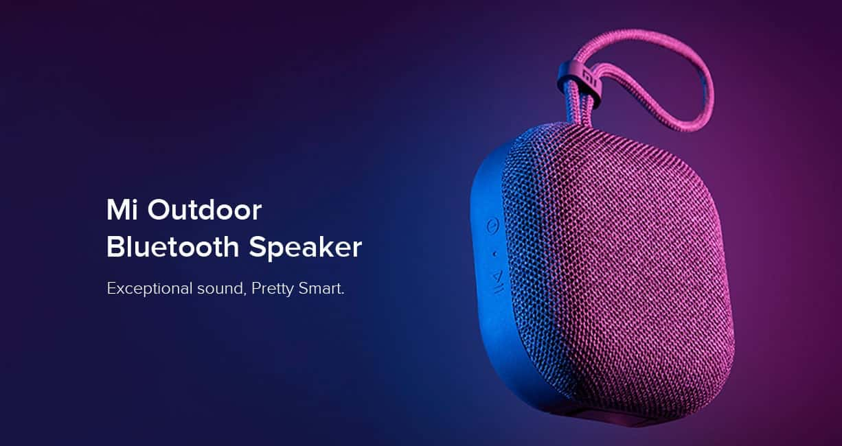 Xiaomi Mi Outdoor Bluetooth Speaker Launched in India for a Price Tag of $20 - Gizchina.com