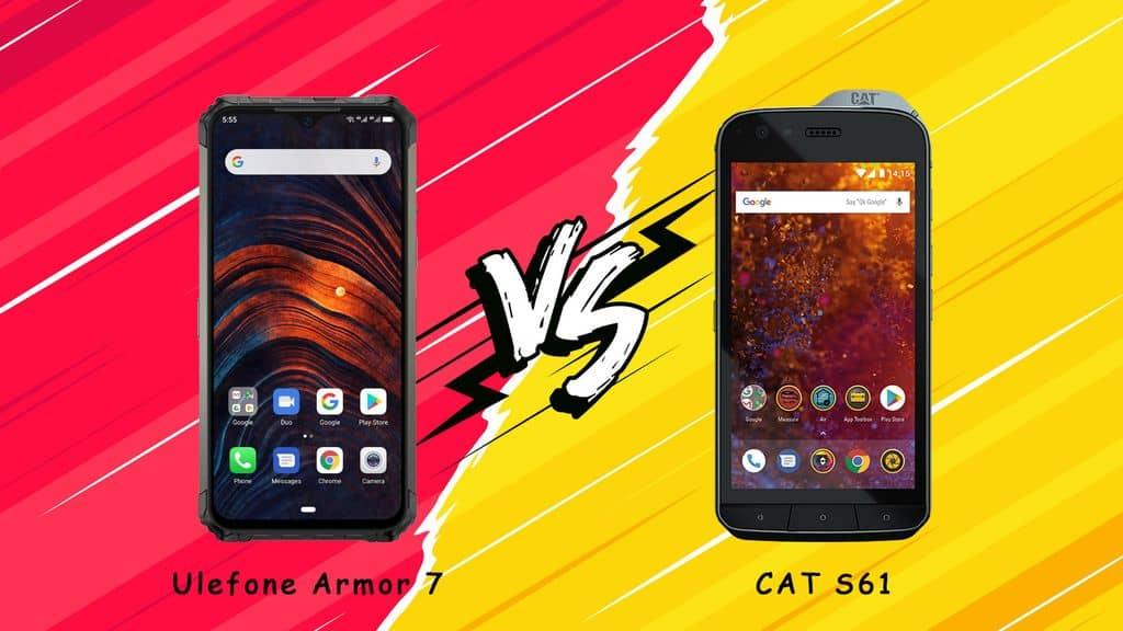 Ulefone Armor 7 vs CAT S61: Performance Comparison - Gizchina.com
